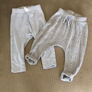 2 pack pants old navy size 6-12 months